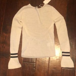 Vince sweater with flared sleeves